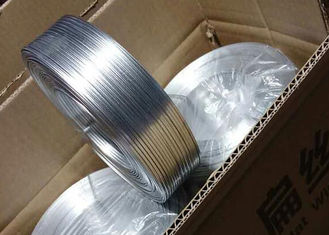 چین Cooper Coat Galvanized Flat Wire For Stitching / Carton Binding Wire تامین کننده